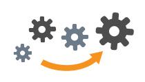 徹底的な標準化と自動化で高品質の運用を低コストでご提供