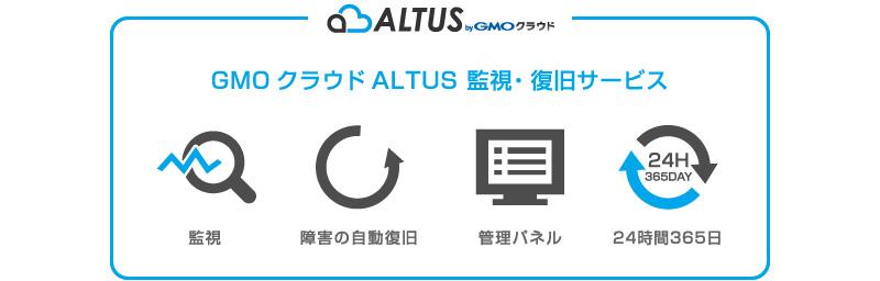 GMO ALTUS 監視・復旧サービス
