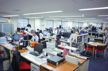 オフィスの雰囲気