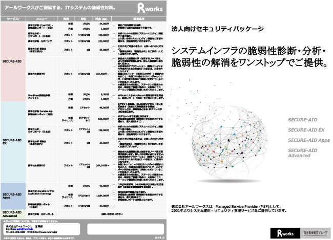 脆弱性診断サービスカタログ