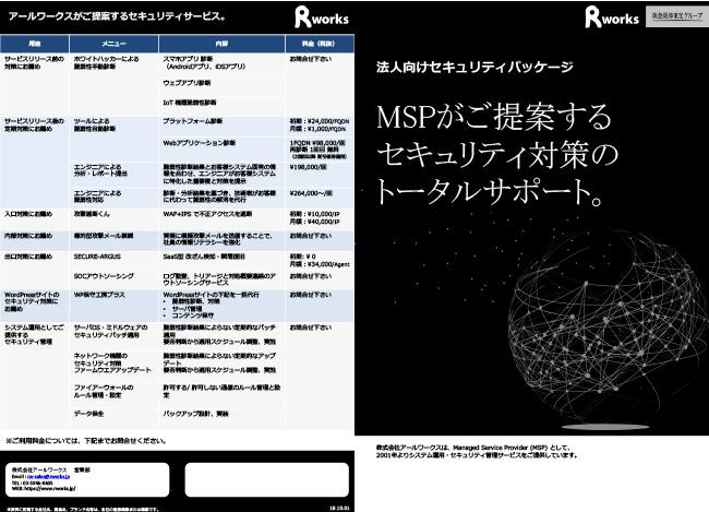 セキュリティサービス総合カタログ