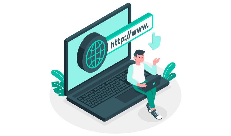 Webサイトが表示されるまでの仕組みを用語の解説を交えて紹介