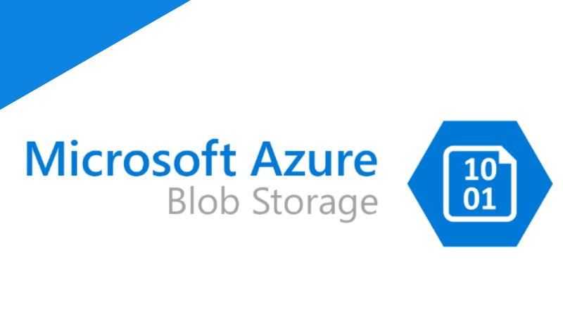 Azure ストレージが提供する4つのサービスを紹介 (Azure Blobの機能)
